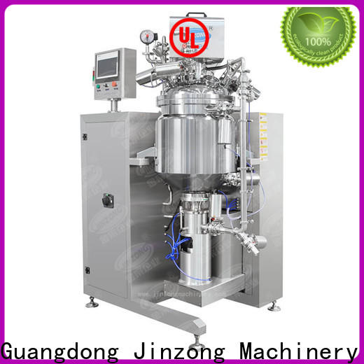 Jinzong Machinery jr Mayonnaise manufacturing machine company for reflux
