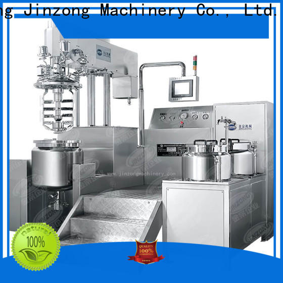 Jinzong Machinery series preparation of pharmaceutical process manufacturers for food industries