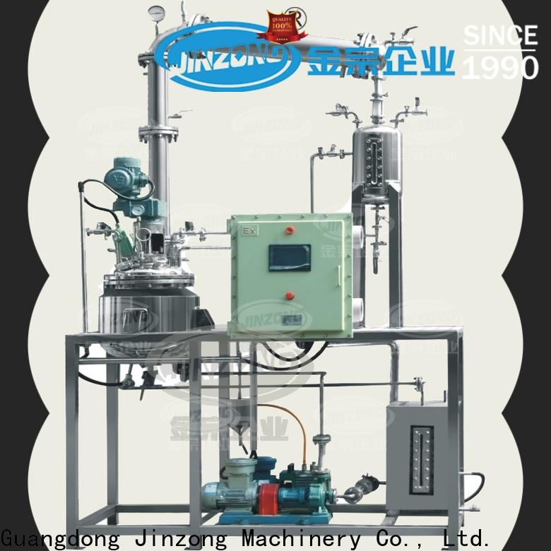 Jinzong Machinery ss jacketed reactor Chinese for stationery industry