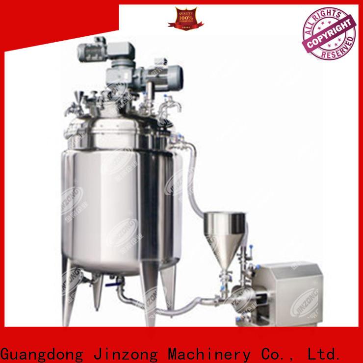 Jinzong Machinery multi function pilot reactor company for reflux