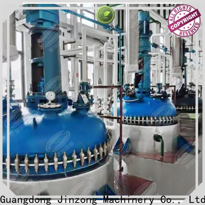 Jinzong Machinery multi function jacket mixing tank for business for reaction
