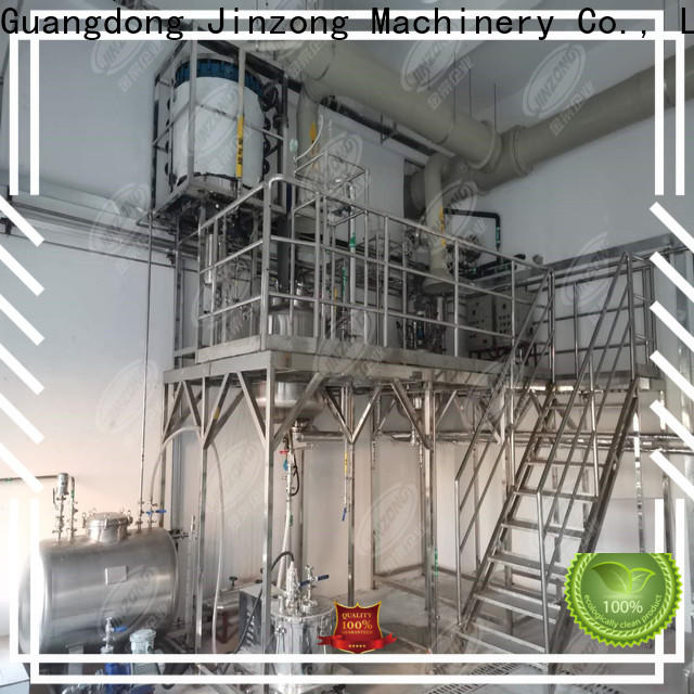 Jinzong Machinery machine distillation concentrator for business for reflux