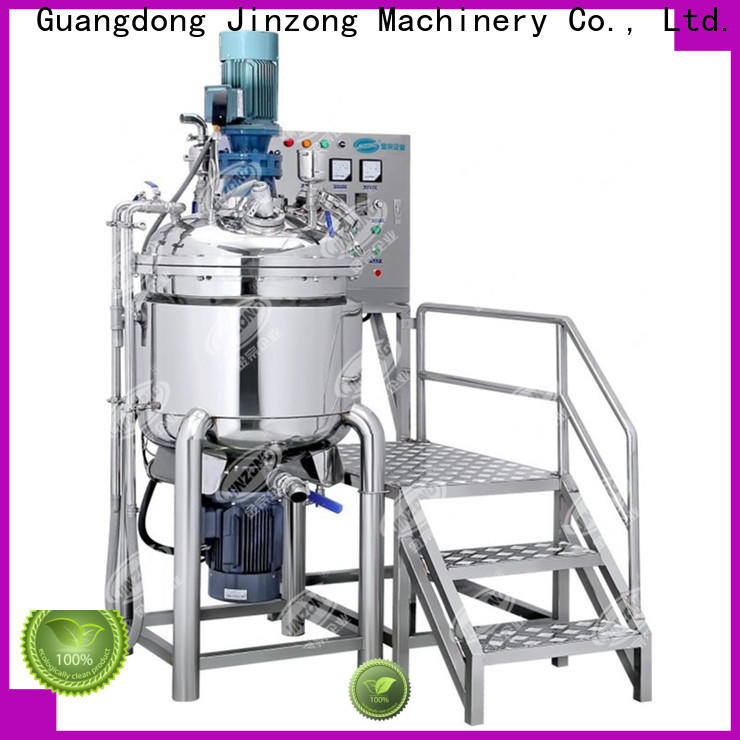 Jinzong Machinery high-quality vacuum homogenizing mixing tank for business for pharmaceutical