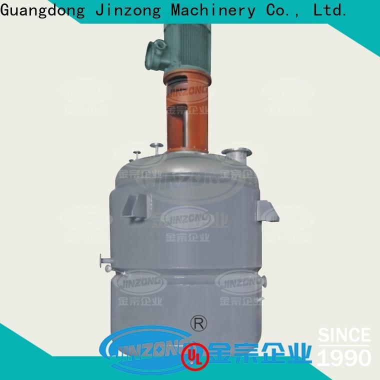Jinzong Machinery best reactor company for stationery industry