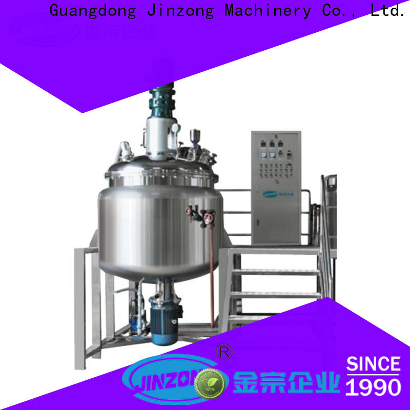 Jinzong Machinery pilot disperser manufacturers for stationery industry