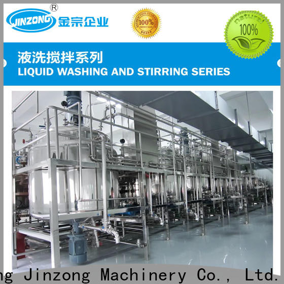 Jinzong Machinery washing skin cleaner making mixer manufacturers for paint and ink