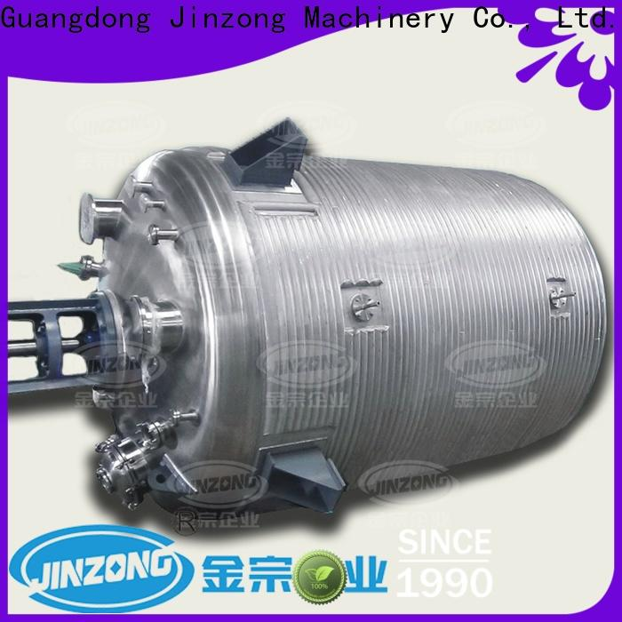 Jinzong Machinery high-quality vertical condenser company for reaction