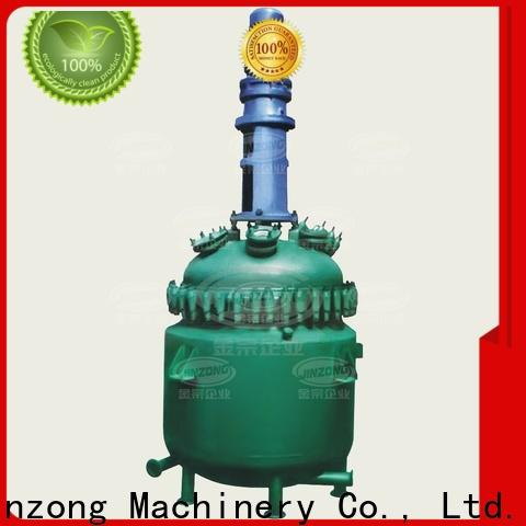 Jinzong Machinery steel unsaturated polyester resin reactor Chinese for distillation