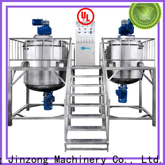 Jinzong Machinery power horizontal condenser for business for paint and ink