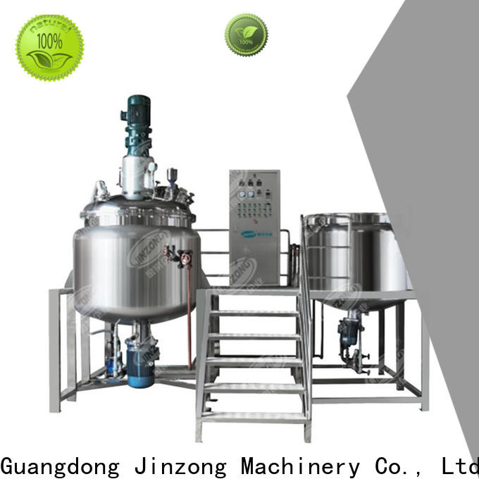 Jinzong Machinery series pilot reactor online for pharmaceutical