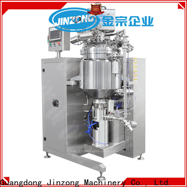 Jinzong Machinery accurate lab vacuum homogenizer supply for food industries