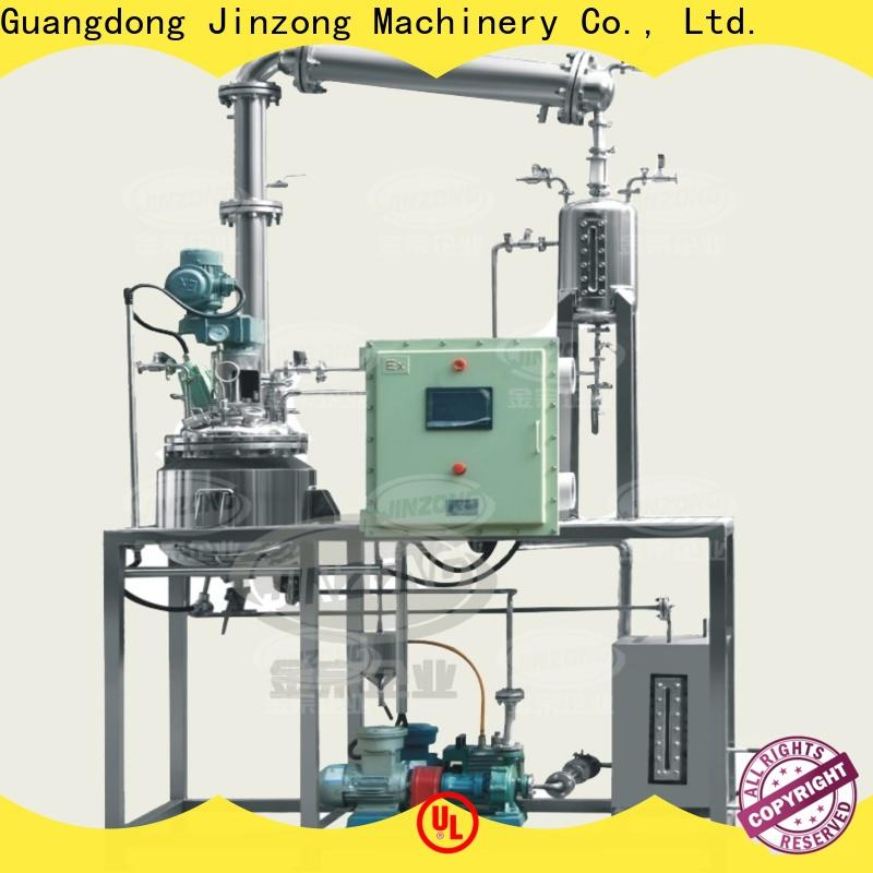 Jinzong Machinery high-quality pva reactor for business for distillation