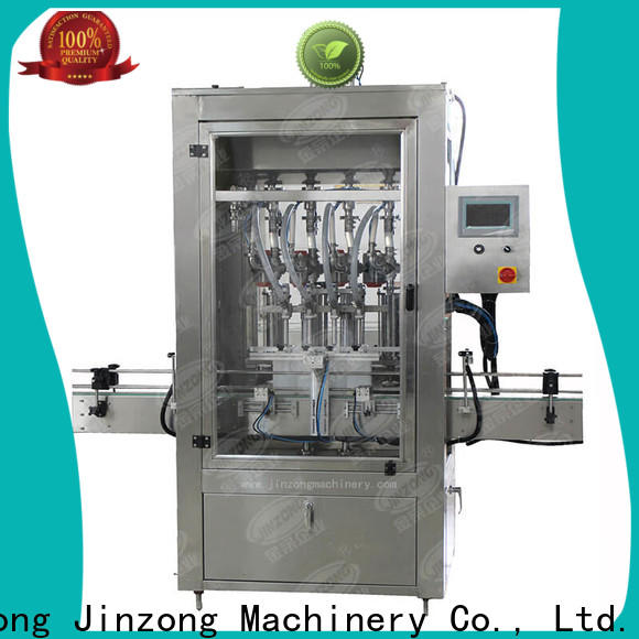 Jinzong Machinery facial shampoo filling machine for business for petrochemical industry