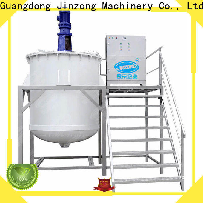 Jinzong Machinery laboratory cosmetic filling and packaging wholesale for food industry