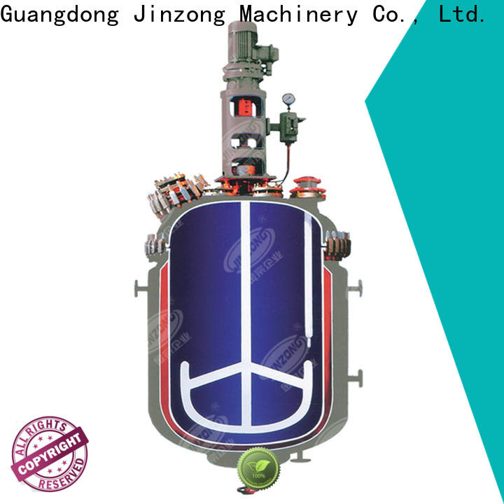Jinzong Machinery good quality reaction vessel for business for reflux