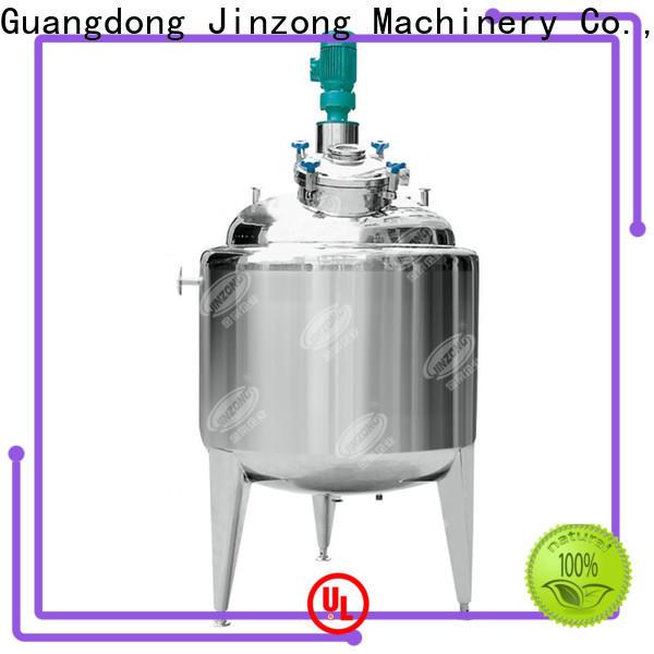 Jinzong Machinery series emulsifying mixing tank factory for reflux