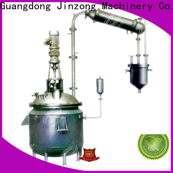 Jinzong Machinery yga evatoration concentrator company for reaction