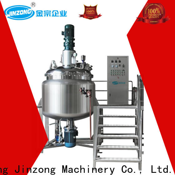 Jinzong Machinery precise stainless steel reactor manufacturers manufacturers for petrochemical industry