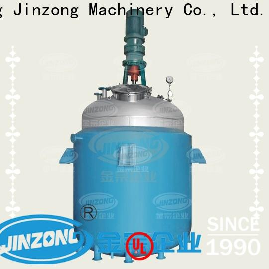 Jinzong Machinery multifunctional unsaturated polyester resin pilot reactor manufacturers for reflux