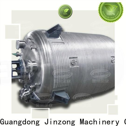 Jinzong Machinery medium acrylic resin pilot reactor online for distillation