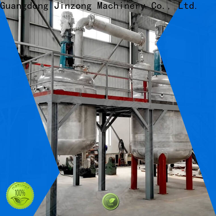 Jinzong Machinery multifunctional alkyd resin reactor factory for stationery industry