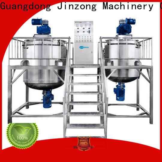Jinzong Machinery steel Resin reactor factory for food industry