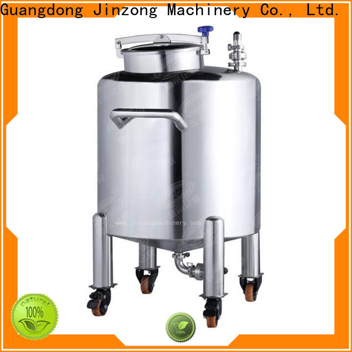 Jinzong Machinery homogenizing cream filling machine wholesale for petrochemical industry