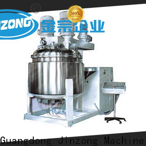 Jinzong Machinery tank skin care products making machine wholesale for nanometer materials