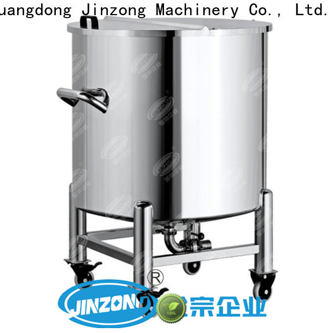 Jinzong Machinery ointment glass lined mixing tank manufacturers for reflux