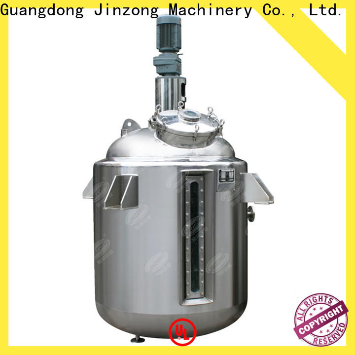 Jinzong Machinery making ointment mixing tank company for reflux
