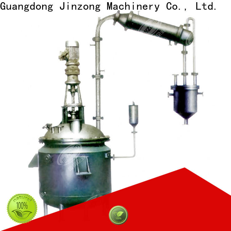 Jinzong Machinery best API manufacturing process reactor factory for food industries