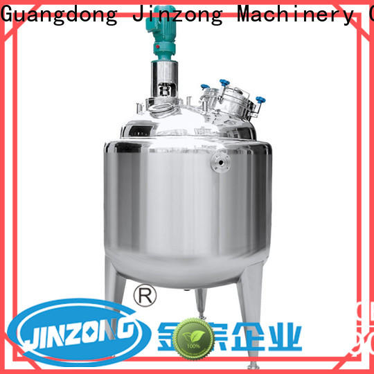 Jinzong Machinery series api manufacturing process reactor suppliers for reflux