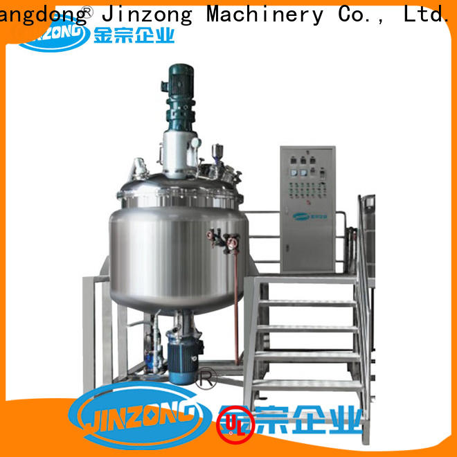 Jinzong Machinery steel Resin reaction kettle factory for nanometer materials