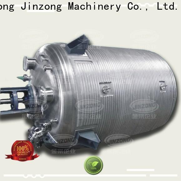 Jinzong Machinery high-quality acylic resin reactor supply for The construction industry