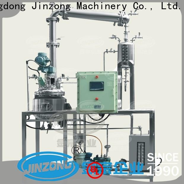Jinzong Machinery half acrylic resin pilot reactor company for The construction industry