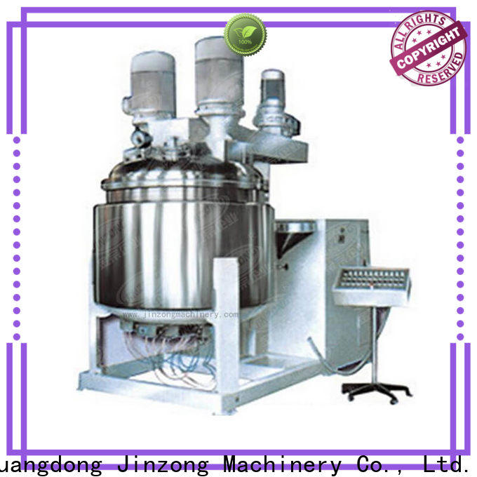Jinzong Machinery high-quality Alkyd resin reaction kettle factory for petrochemical industry