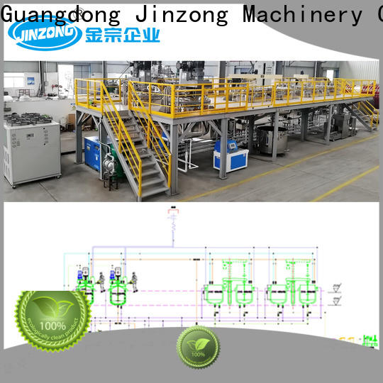 Jinzong Machinery powder road marking paint mixer equipment company for industary