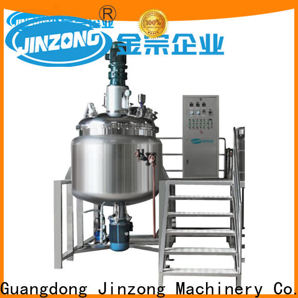 Jinzong Machinery machine disperser company for chemical industry