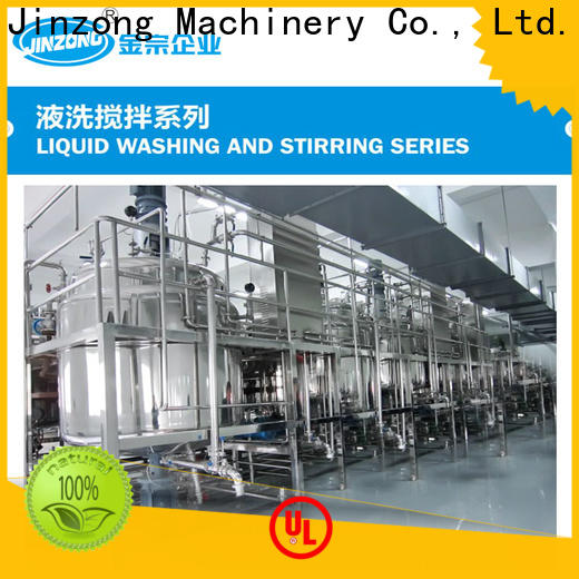 Jinzong Machinery ss disperser manufacturers for reaction