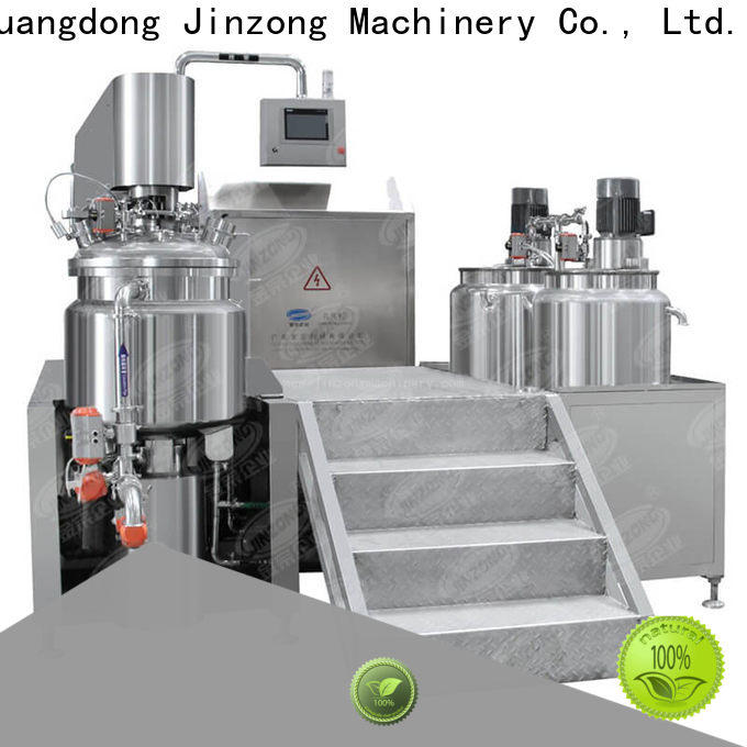 Jinzong Machinery latest conical tanks for sale suppliers for food industry