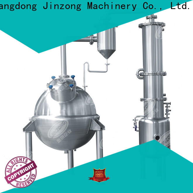 Jinzong Machinery jrf chemical mixing equipment company for reaction