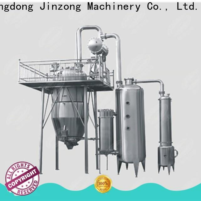 Jinzong Machinery top oral liquid mixing tank factory for reflux