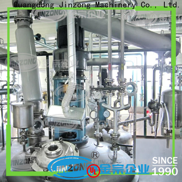 Jinzong Machinery wholesale peters equipment online for reaction