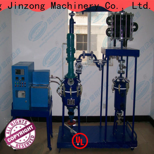 Jinzong Machinery viscosity chocolate equipment for sale for business for reaction