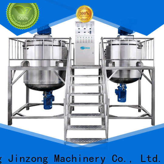 Jinzong Machinery utility homogenizers supply for food industry