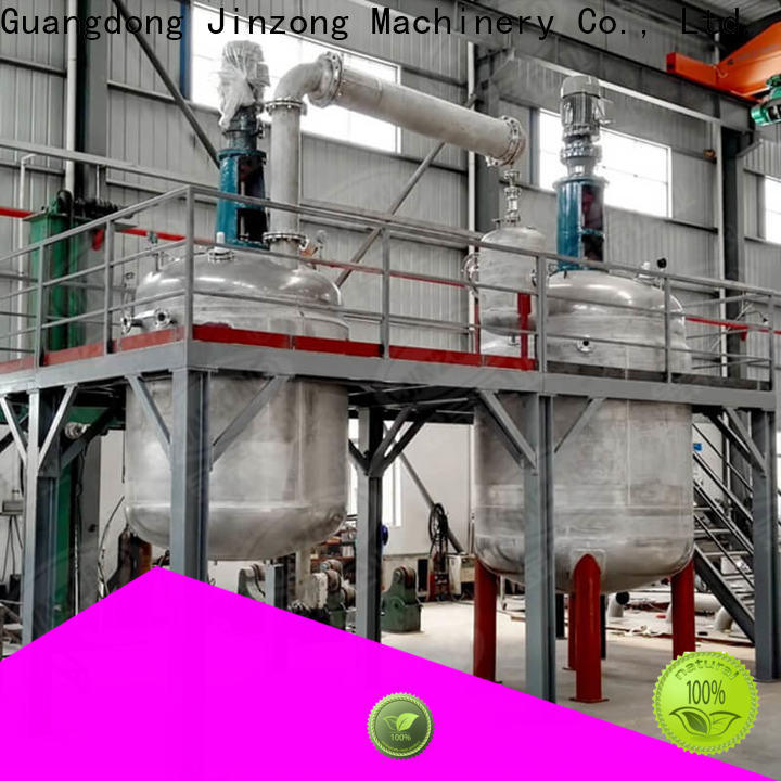 Jinzong Machinery complete tank platform supply for chemical industry