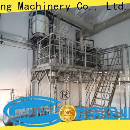 Jinzong Machinery making case sealing machine company for reaction