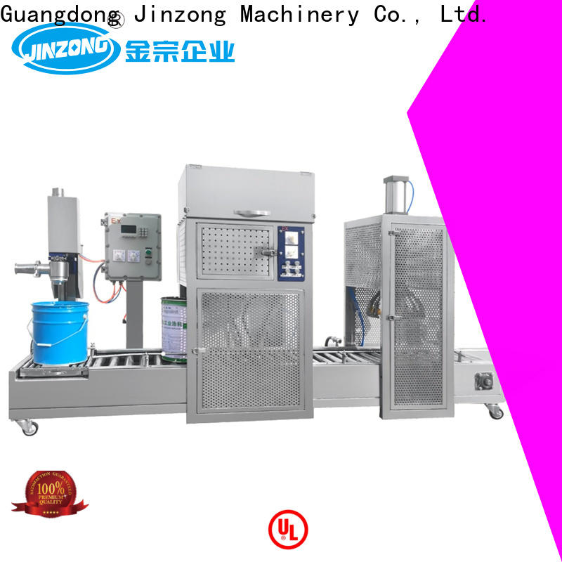 Jinzong Machinery realiable plastic bag labeling machine supply for plant