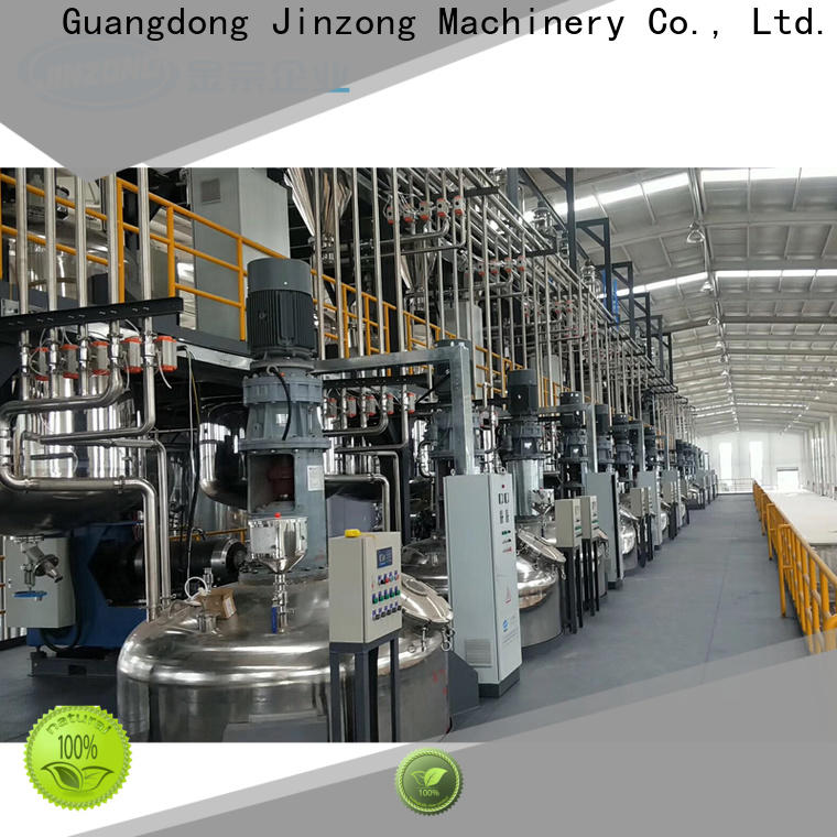 Jinzong Machinery horizontal all packaging machinery corp high-efficiency for industary