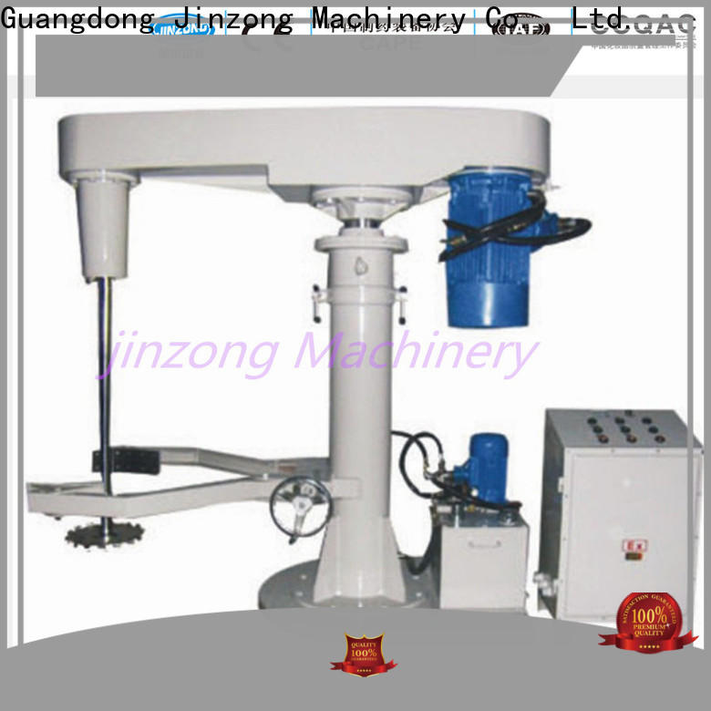 Jinzong Machinery latest paint mixing equipment for business for chemical industry